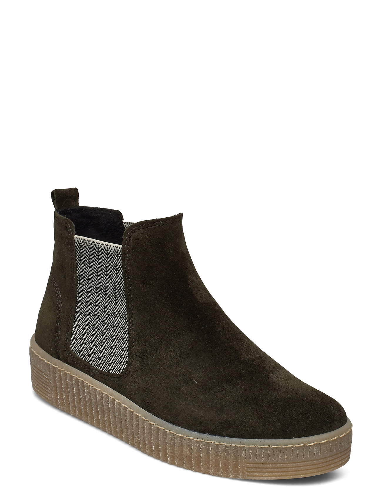 Image of Ankle Boot Shoes Boots Ankle Boots Ankle Boot - Flat Grøn Gabor (3431378109)