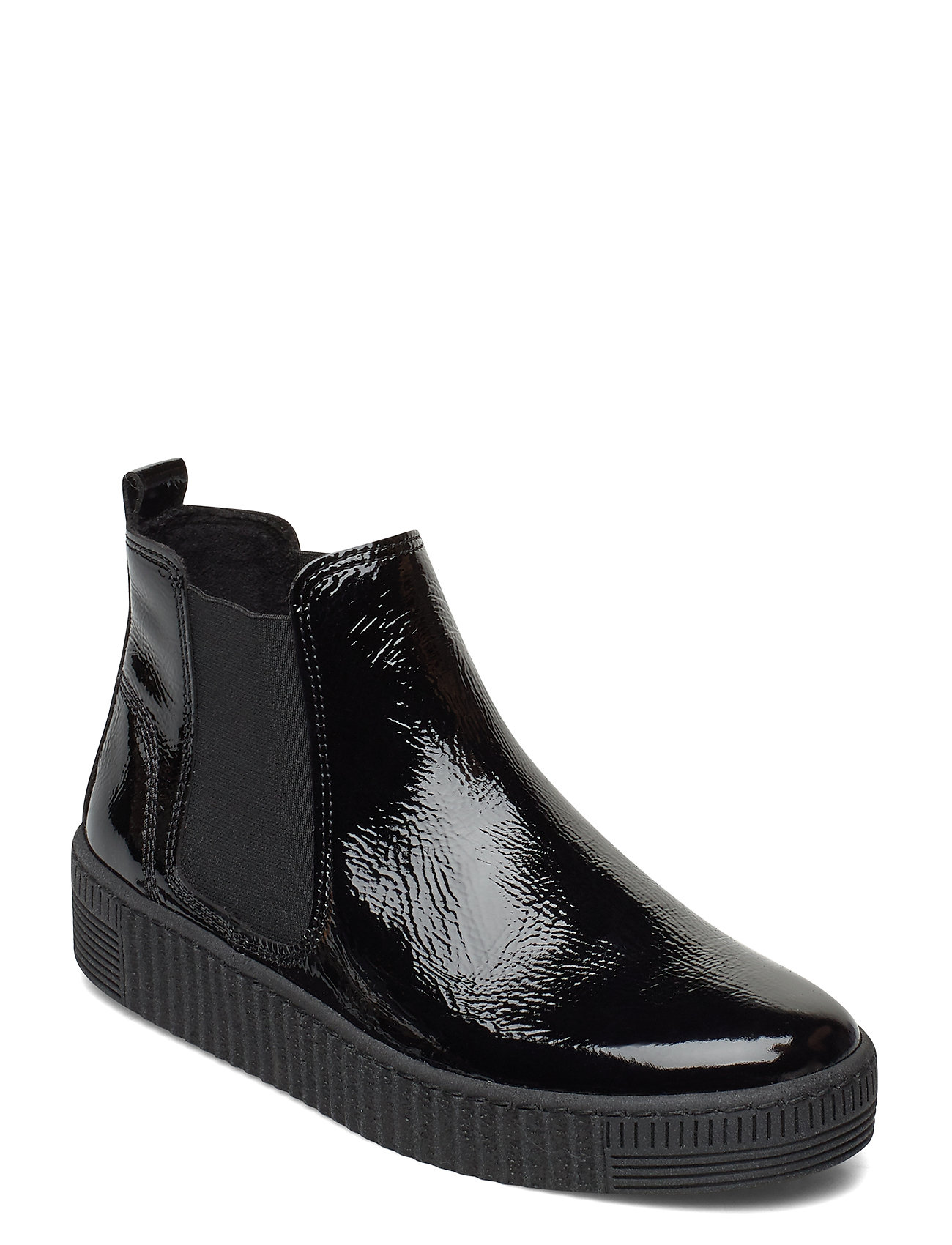 Image of Ankle Boot Shoes Boots Ankle Boots Ankle Boot - Flat Sort Gabor (3431378119)