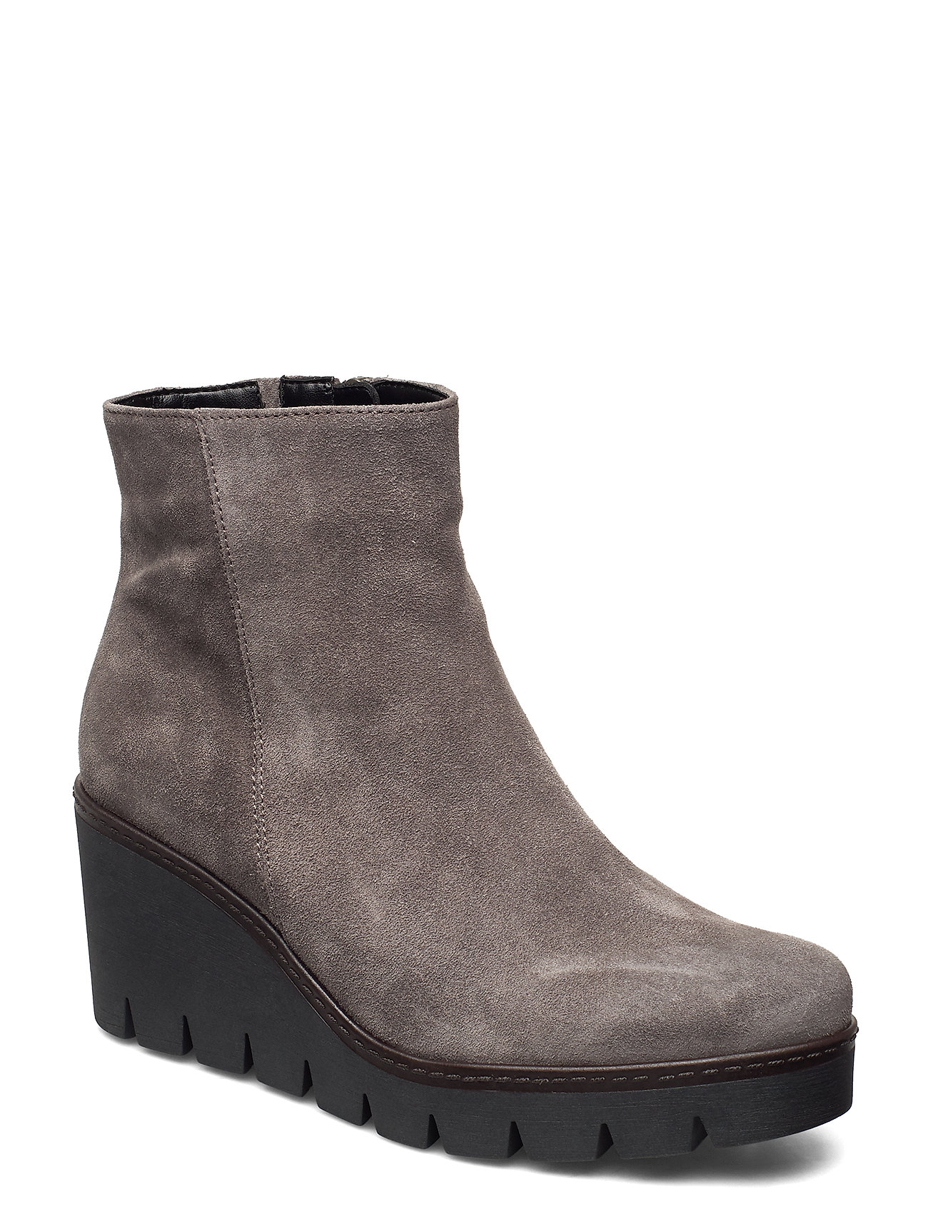 Image of Ankle Boot Shoes Boots Ankle Boots Ankle Boot - Heel Grå Gabor (3445903707)
