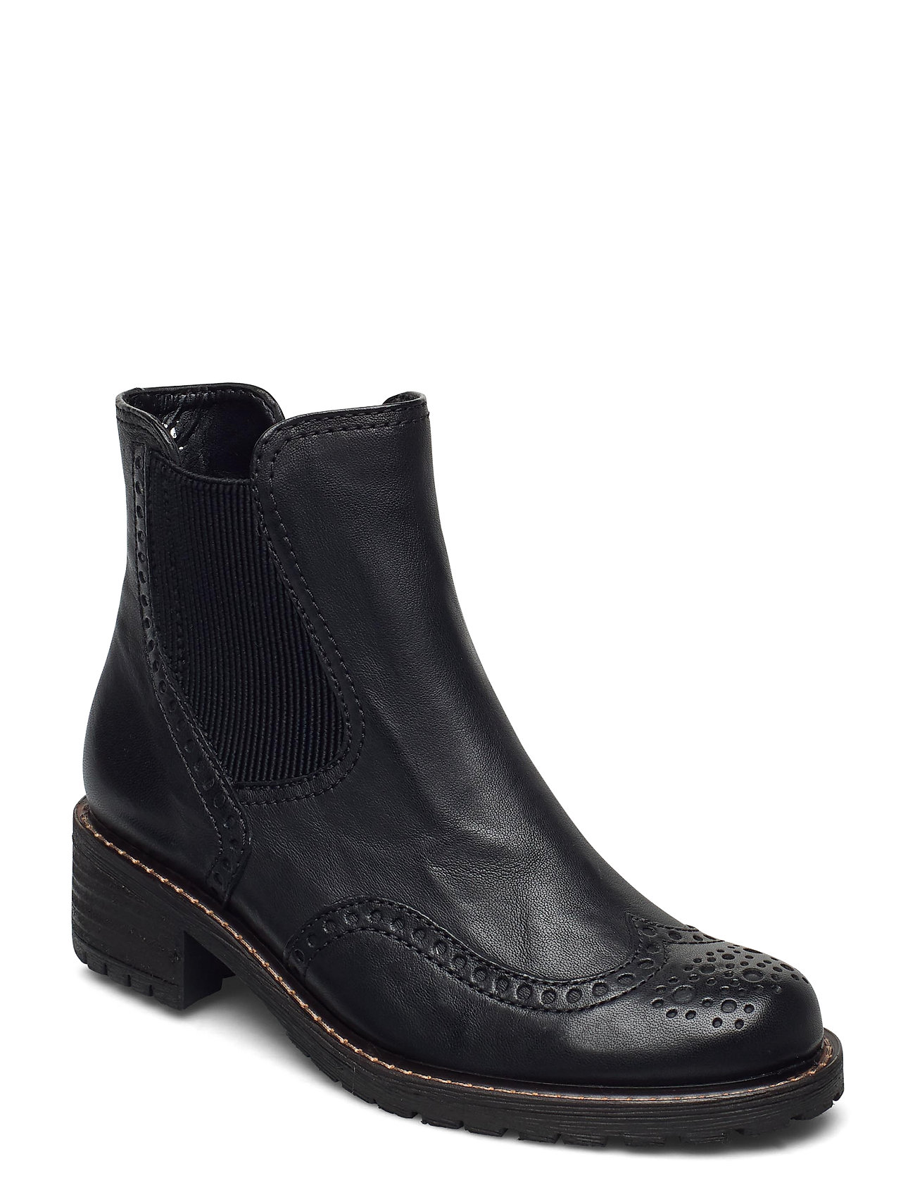 Image of Ankle Boot Shoes Boots Ankle Boots Ankle Boot - Flat Sort Gabor (3440209451)