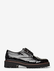 Gabor - Slip-ons - buty sznurowane - black - 1
