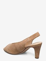 Gabor - sandals - peeptoes - beige - 2