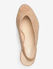 Gabor - sandals - peeptoes - beige - 3