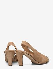 Gabor - sandals - peeptoes - beige - 4