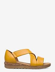 Gabor - sandals - høyhælte sandaler - yellow - 1
