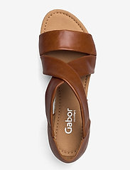 Gabor - sandals - høyhælte sandaler - brown - 3