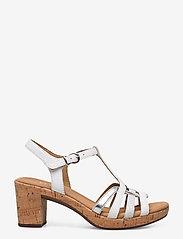 Gabor - sandals - høyhælte sandaler - white - 1