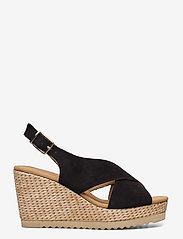 Gabor - sandals - espadrilles met sleehak - black - 1