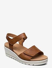 Gabor - sandals - høyhælte sandaler - beige - 0