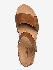 Gabor - sandals - høyhælte sandaler - beige - 3