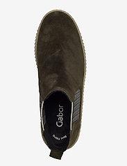 Gabor - Ankle boot - niski obcas - green - 3