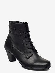 Gabor - Ankle boot - enkellaarsjes met hak - black - 0