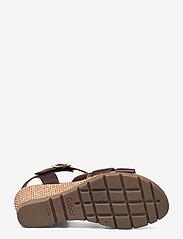 Gabor - Ankle-stap sandal - espadrilles mit absatz - brown - 4