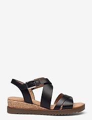 Gabor - Ankle-stap sandal - espadrilles mit absatz - black - 0