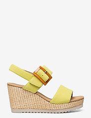Gabor - Ankle-stap sandal - espadrilles mit absatz - green - 1