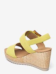 Gabor - Ankle-stap sandal - espadrilles mit absatz - green - 2