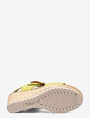 Gabor - Ankle-stap sandal - espadrilles mit absatz - green - 4