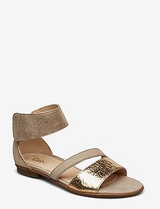 Sling Sandals - BEIGE