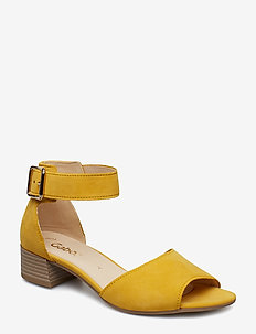 Sling Sandals - YELLOW