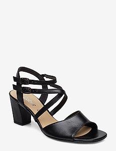 Sling Sandals - BLACK