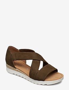 Sling Sandals - GREEN