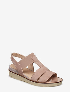 Sling Sandals - MULTI COLOURED