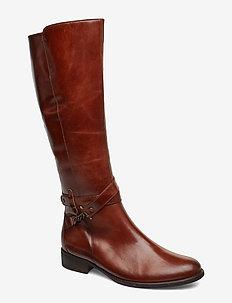 Boots - lange stiefel - brown