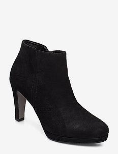 Ankle boots - ankelstøvler med hæl - black