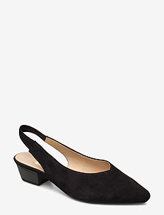 Slings - slingbacks - black