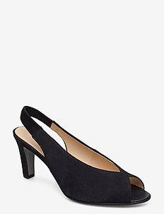 sandals - korolliset sandaalit - blue
