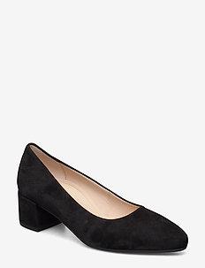 Comfort ballerina/pumps - BLACK