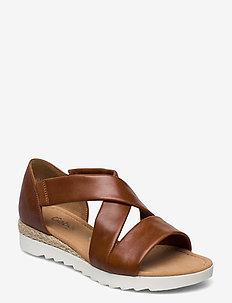 sandals - hoge sandalen - brown