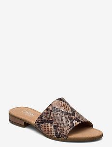 sandals (mules) - mules & slipins - beige
