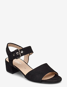sandals - sandalen met hak - black