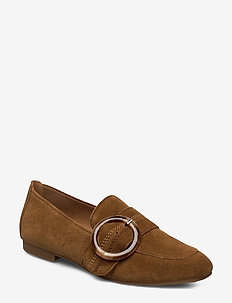 slip on - loafers - beige