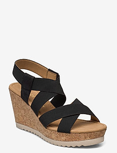 sandals - høyhælte sandaler - black