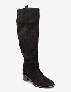 Boot - lange laarzen - black