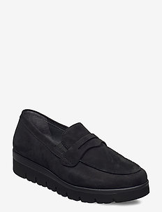 Sport low shoe - mokasyny - black