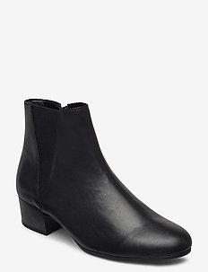Ankle boot - ankelstøvletter med hæl - black