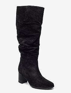 Boot - lange laarzen - black
