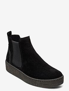 Ankle boot - niski obcas - black