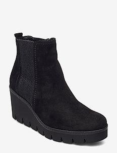 Ankle boot - talon haut - black