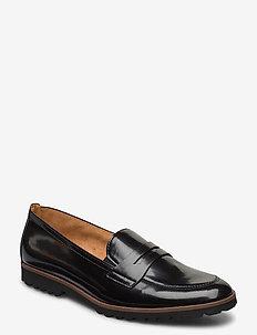 Slip-ons - loafers - black