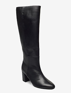 Boot - höga stövlar - black