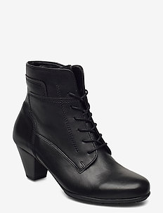 Ankle boot - wysoki obcas - black