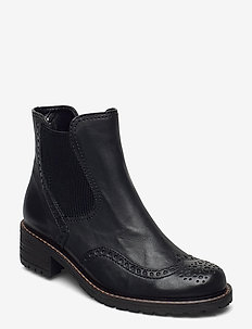 Ankle boot - flat ankle boots - black