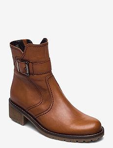 Ankle boot - niski obcas - beige
