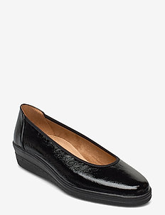 running shoe - ballerinas - black