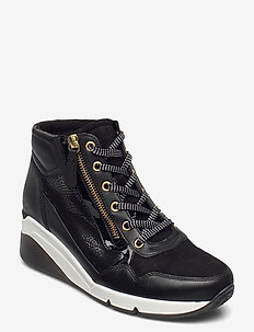 Ankle boot - chunky sneakers - black