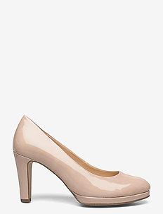 Court shoe - klassiska pumps - beige